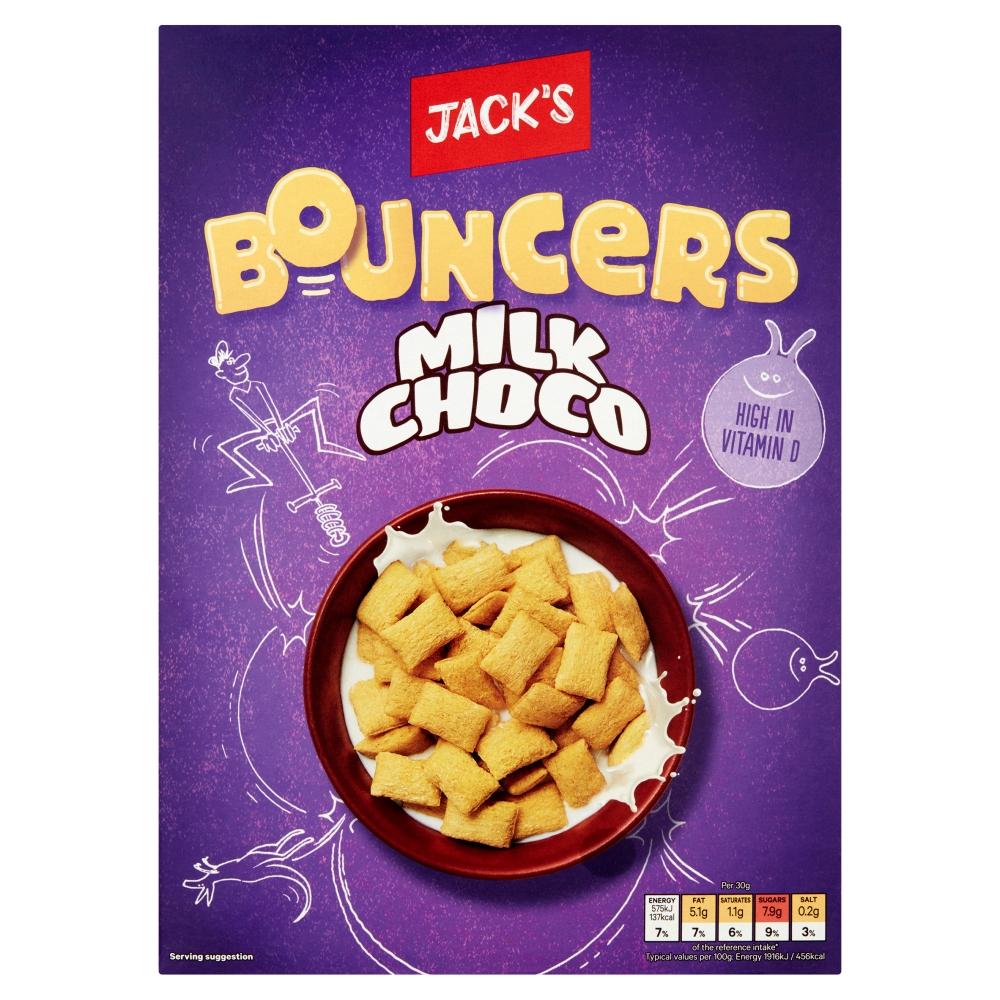Jack's Bouncers Milk Choco 375g