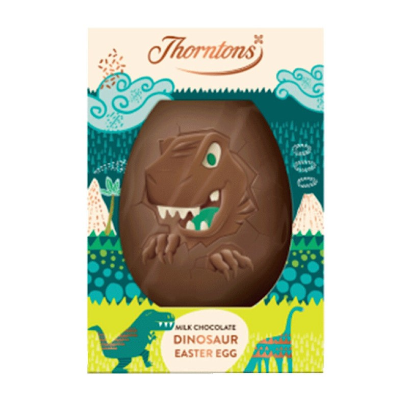 Thorntons Mlk Dinosaur Egg 151g