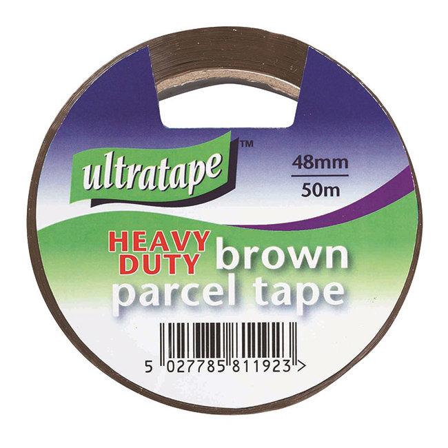 Ultratape Heavy Duty Brown Parcel Tape