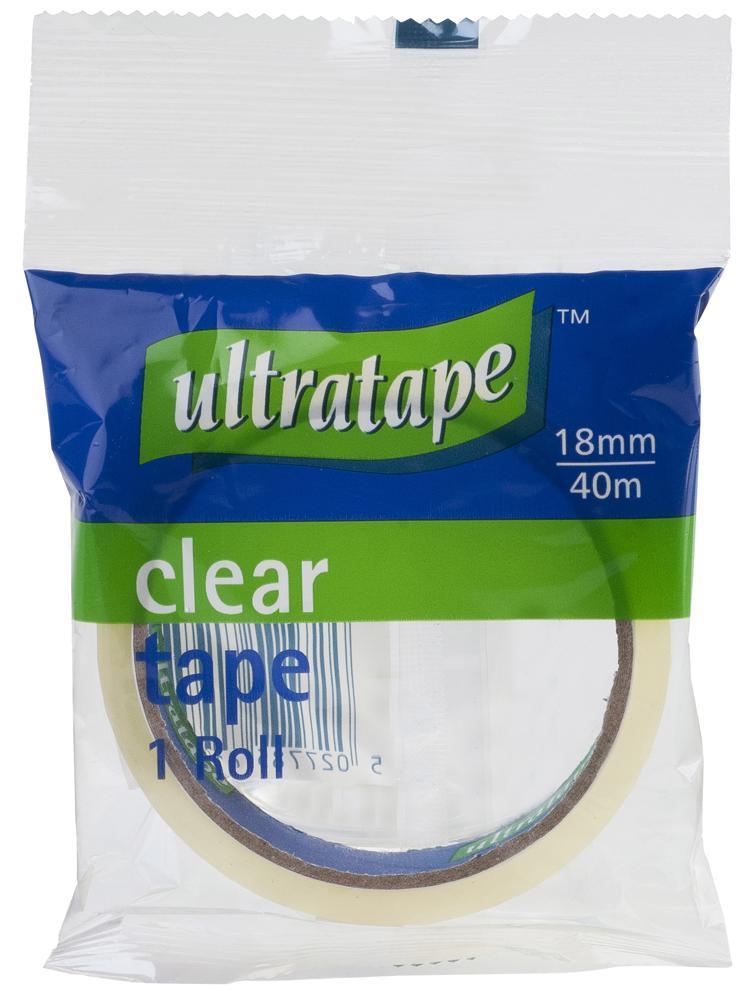 Clear Tape 18mm x 40m