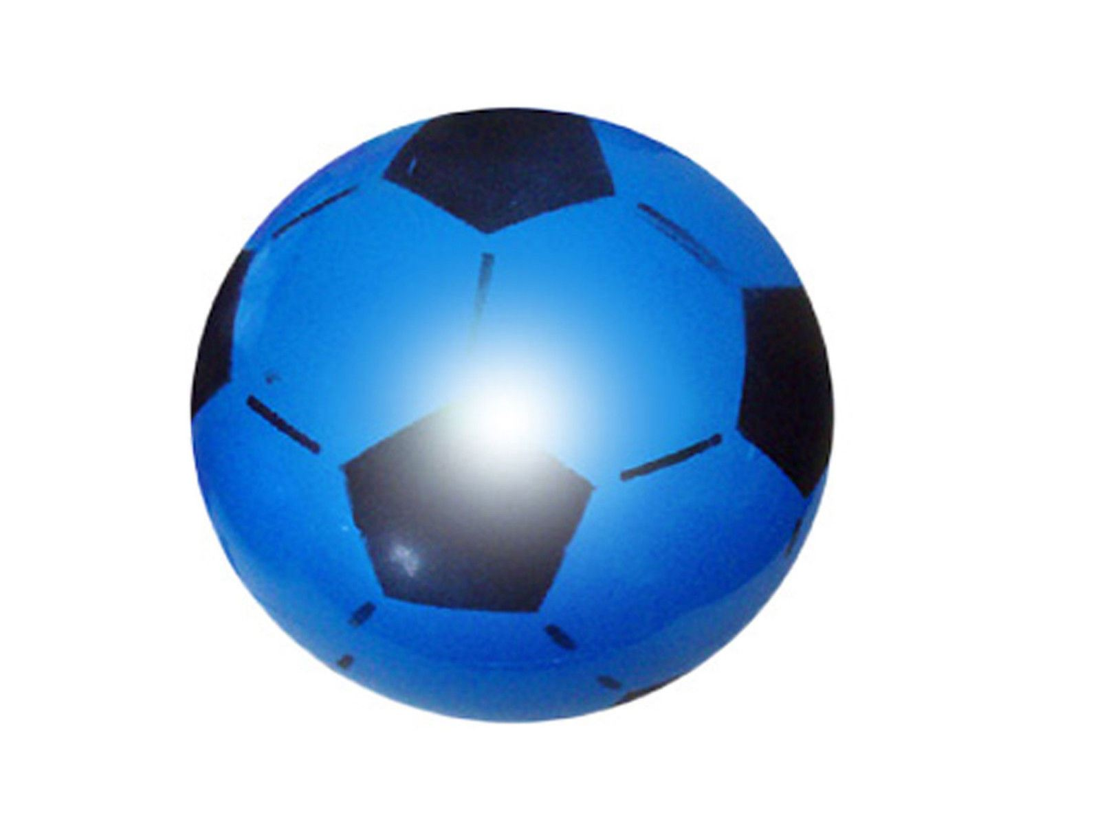 Blue PVC Football