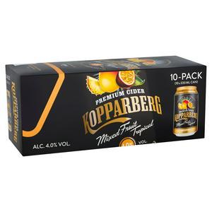 Kopparberg Premium Cider Mixed Fruit Tropical 10x330ml