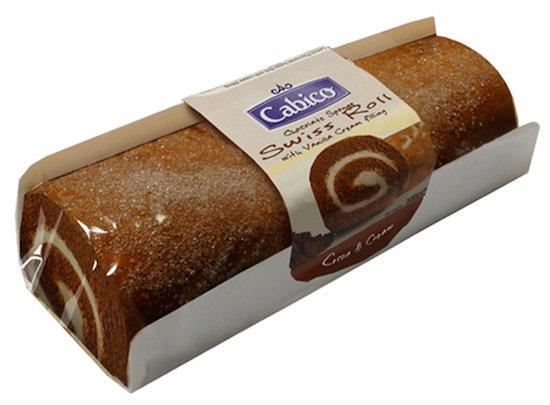 Cabico Chocolate Swiss Roll 300g