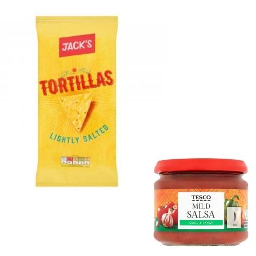 Jacks Lightly Salted Tortilla / Salsa Deal