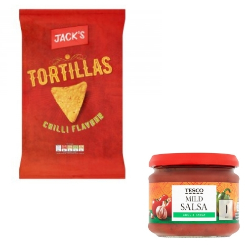 Jacks Chilli Tortilla / Salsa Deal
