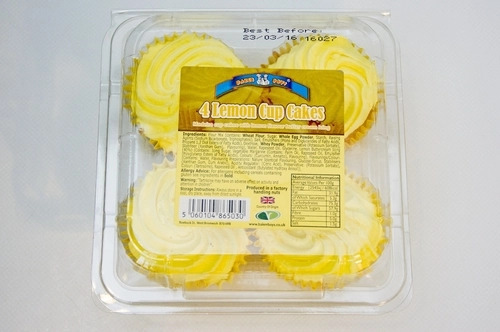 Baker Boys 4 Lemon Cupcakes