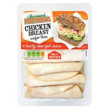 Bernard Matthews Chicken Breast Wafer Thin 120g