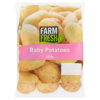 Farm Fresh Baby Potatoes 500g
