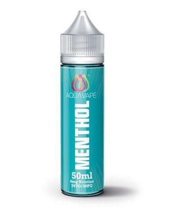 Aqua Vape Menthol 0mg Nicotine 50ml