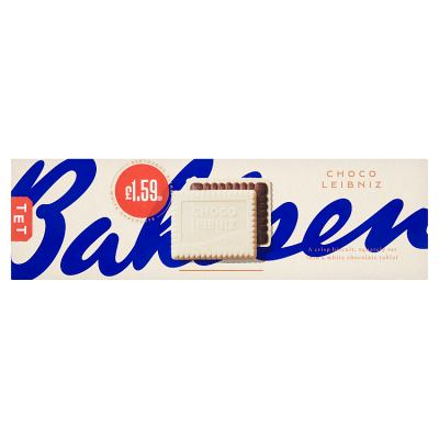 Bahlsen Choco Leibniz White Chocolate 125g