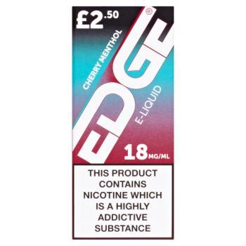 Edge Cherry Menthol E-Liquid 18mg/ml 10ml