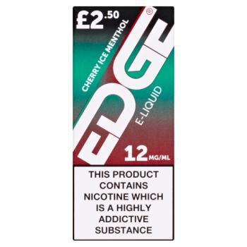 Edge Cherry Ice Menthol E-Liquid 12mg/ml 10ml