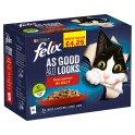 FELIX AS GOOD AS IT LOOKS Meaty Selection in Jelly Wet Cat Food 12x100g