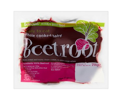 Brookerpaks Whole Cooked Baby Beetroot 25g