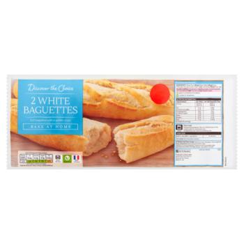 Discover the Choice 2 White Baguettes