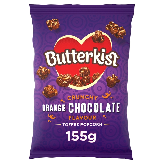 Butterkist Crunchy Orange Toffee Popcorn 155g (2 packs, Buy1Get1Free)