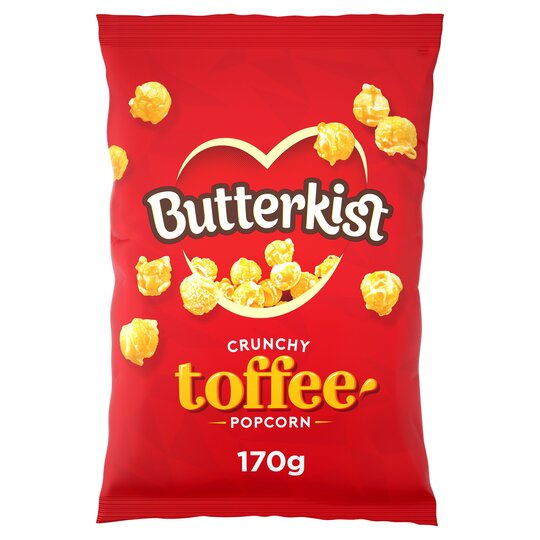 Butterkist Crunchy Toffee Popcorn 170g (2packs, Buy1Get1Free)